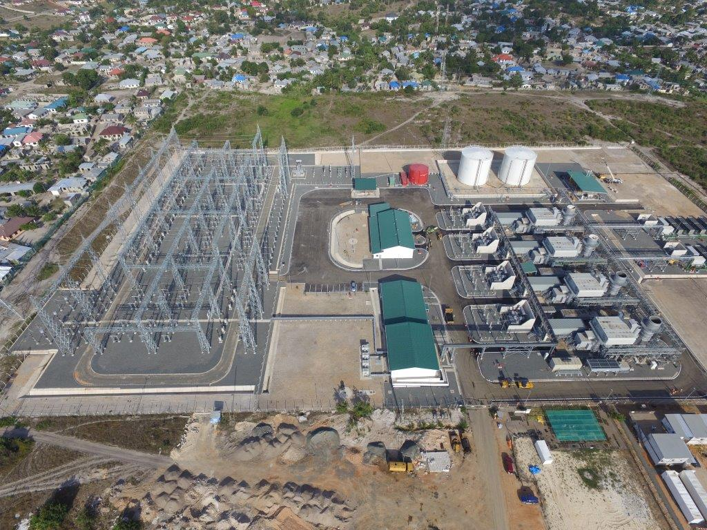 Kinyerezi I 150MW Power Plant inaugurated in Tanzania