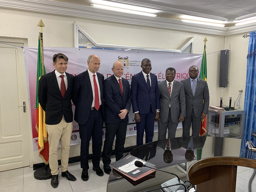 Jacobsen Elektro Signed MoU with SBEE, Electric Utility of Benin