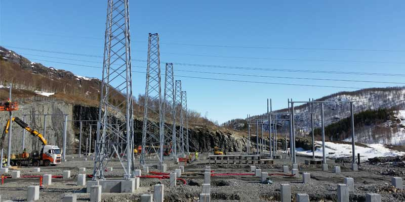 420 kV Substations Kvandal